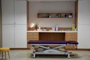 Création espace consultation et soins, mobilier sur mesure - Sandrine Gauquier Achitecte Interieur- cabinet médical spécialiste