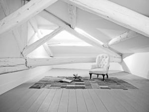 Aménagement comble, réfection toiture, création ouverture- Sandrine Gauquier architecte d'intérieur - Projet rénovation maison de ville
