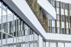 Façade de l'immeuble Liner - Montpellier-Pérols